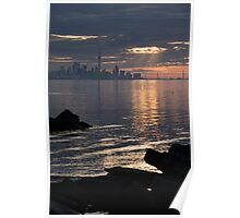 Good Morning, Toronto - the Skyline From Across Humber Bay Poster