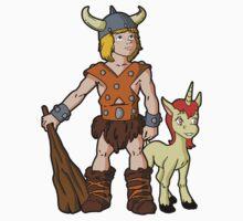 Bobby The Barbarian & Uni The Unicorn Kids Clothes
