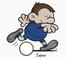 2014 World Cup T-Shirts - Japan by spaghettiarts