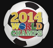 2014 World Champs Ball - Japan by crouchingpixel