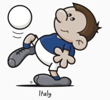 2014 World Cup T-Shirts - Italy by spaghettiarts