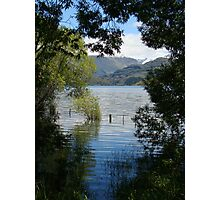 Shallows Of Lake Wanaka Photographic Print