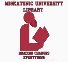Miskatonic University Library by curmudgeony