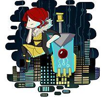 Transistor Welcome to Cloudbank by Cycha