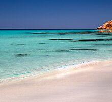 Castle Rock beach by BeninFreo