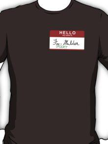 Spooky Mulder. T-Shirt