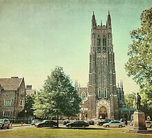 Duke Chapel in Durham, NC by Kadwell