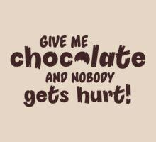 Give me chocolate and nobody gets hurt by nektarinchen