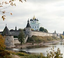 Travel in Russia Pskov Kremlin  by mrivserg