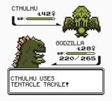 Wild CTHULHU uses Tentacle Tackle!  by RetroReview