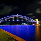 Sydney Harbour Bridge | Vivid Sydney 2014 by Bill Fonseca
