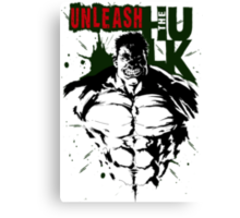 The Incredible Hulk Canvas Print
