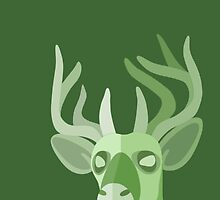 EARTH STAG by Leighderhosen Art