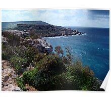 Tramping Malta Poster