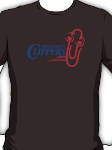 LA (Los Angeles) Microsoft Clippy Clippers Parody T-Shirt