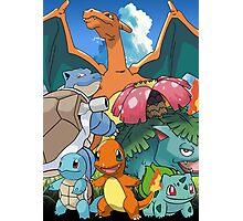 Pokémon 2 evolutions Photographic Print