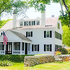 Falmouth Colonial Antique Home on Cape Cod by Elizabeth Thomas