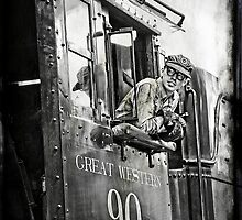 Engineer of The Great Western by David Marciniszyn