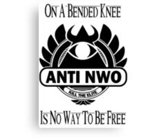 Anti NWO Canvas Print