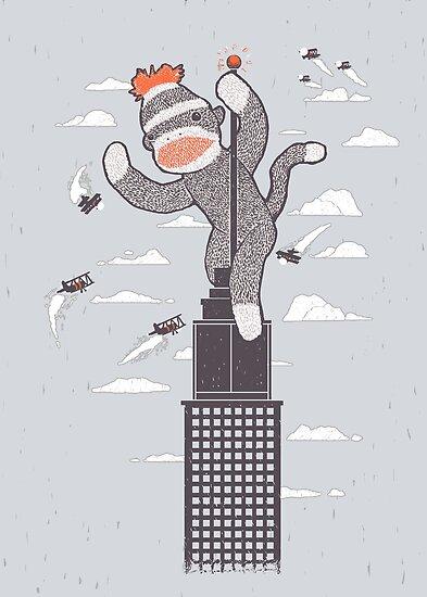 Sock Monkey Just Wants a Friend by RonanLynam