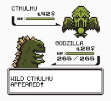 Wild CTHULHU Appears!  by RetroReview