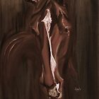 Horse Apple Warm Brown by Go van Kampen