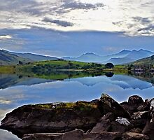 HDR Snowdon by Exploreuk85