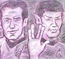 Live Long & Prosper by Lincke