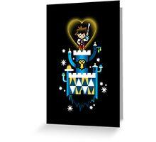 it's a small kingdom Greeting Card