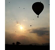 Hot Air Balloons Photographic Print