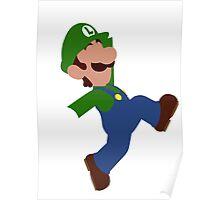 Luigi Minimalist Design Poster