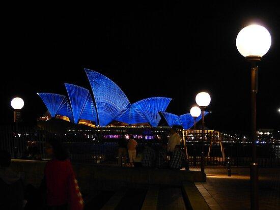 Sometimes the Opera House looks a bit vivid by PhotosByG
