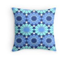 Mosaic Line 3 Throw Pillow