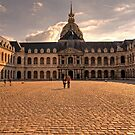 Army Museum Of France - Inner Courtyard - 1 © by © Hany G. Jadaa © Prince John Photography
