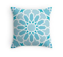 Mosaic Line 4 Throw Pillow
