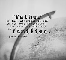 Adoption Psalm Families by Kimberose