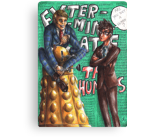Hannibal - Doctor Who - Exterminate the humans Canvas Print