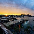 Sun Sets on Vivid Festival, Sydney by Chris Hood