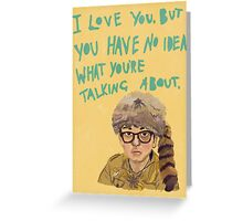 sam - moonrise kingdom  Greeting Card
