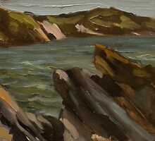 Rocks at Mansands by JamesMurch