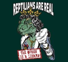 Reptilians Are Real - The Queen Is A Lizard by IlluminNation