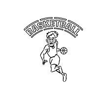 Basketball basket combat sports Photographic Print