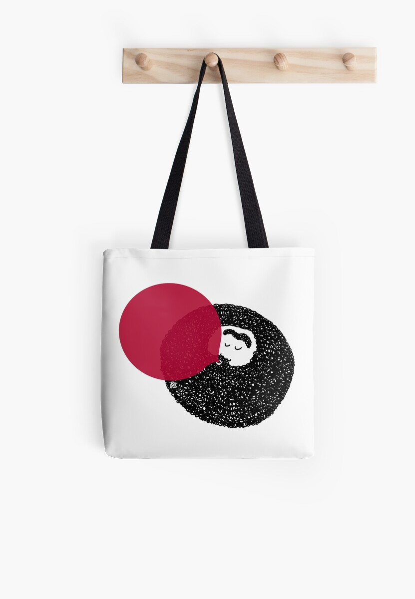 Weirdo With A Beardo Tote Bag / by TsipiLevin