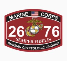 MOS 2676 - Russian Cryptologic Linguist by VeteranGraphics