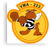 VMA 223 Marine Corps Attack Squadron Canvas Print