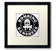 VMSB-244 Marine Corps Dive Bomber Sqd - Bombing Banshees - WW2 Framed Print