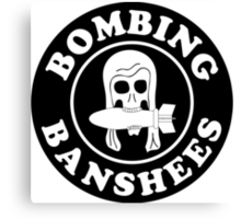 VMSB-244 Marine Corps Dive Bomber Sqd - Bombing Banshees - WW2 Canvas Print