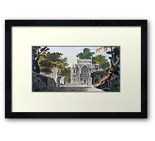 View of a Mosque at Chunar Gur Framed Print