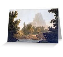 View of the Jungle Greeting Card