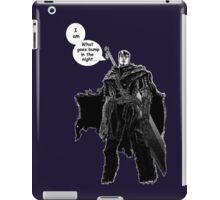Berserk Manga - Bump in the Night iPad Case/Skin